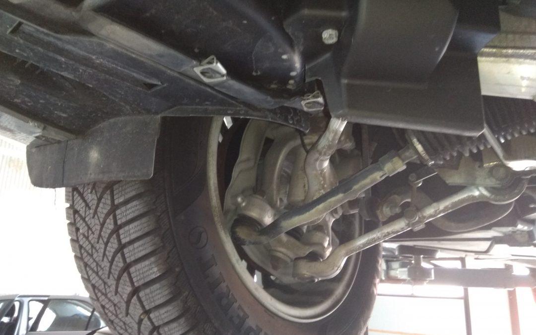 Kontrola stanu technicznego podwozia pojazdu